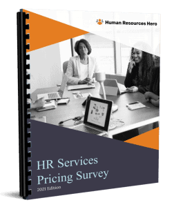 2021 HR Services Pricing Survey | Human Resources Hero