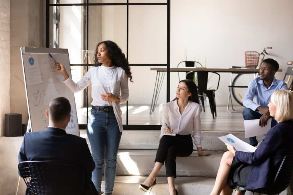 An Office Meeting About Human Resource Development | Human Resources Hero