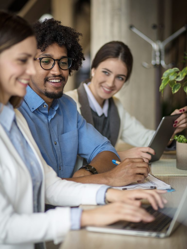Employees reviewing their benefits | Human Resources Hero